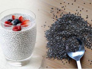 Добавьте в рацион семена чиа и льна, чтобы улучшить здоровье сердца