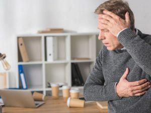 Названы три главных симптома сердечного приступа