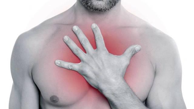 Боли в области сердца: виды и первая помощь