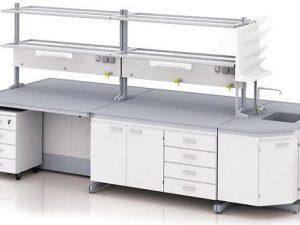 Лабораторная мебель: требования и виды
