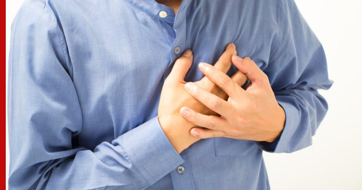 Названы факторы, увеличивающие риск инфаркта у людей старше 45 лет